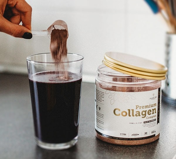 Naravni kolagen v prahu ima torej podobno strukturo kot kolagen v človeškem telesu